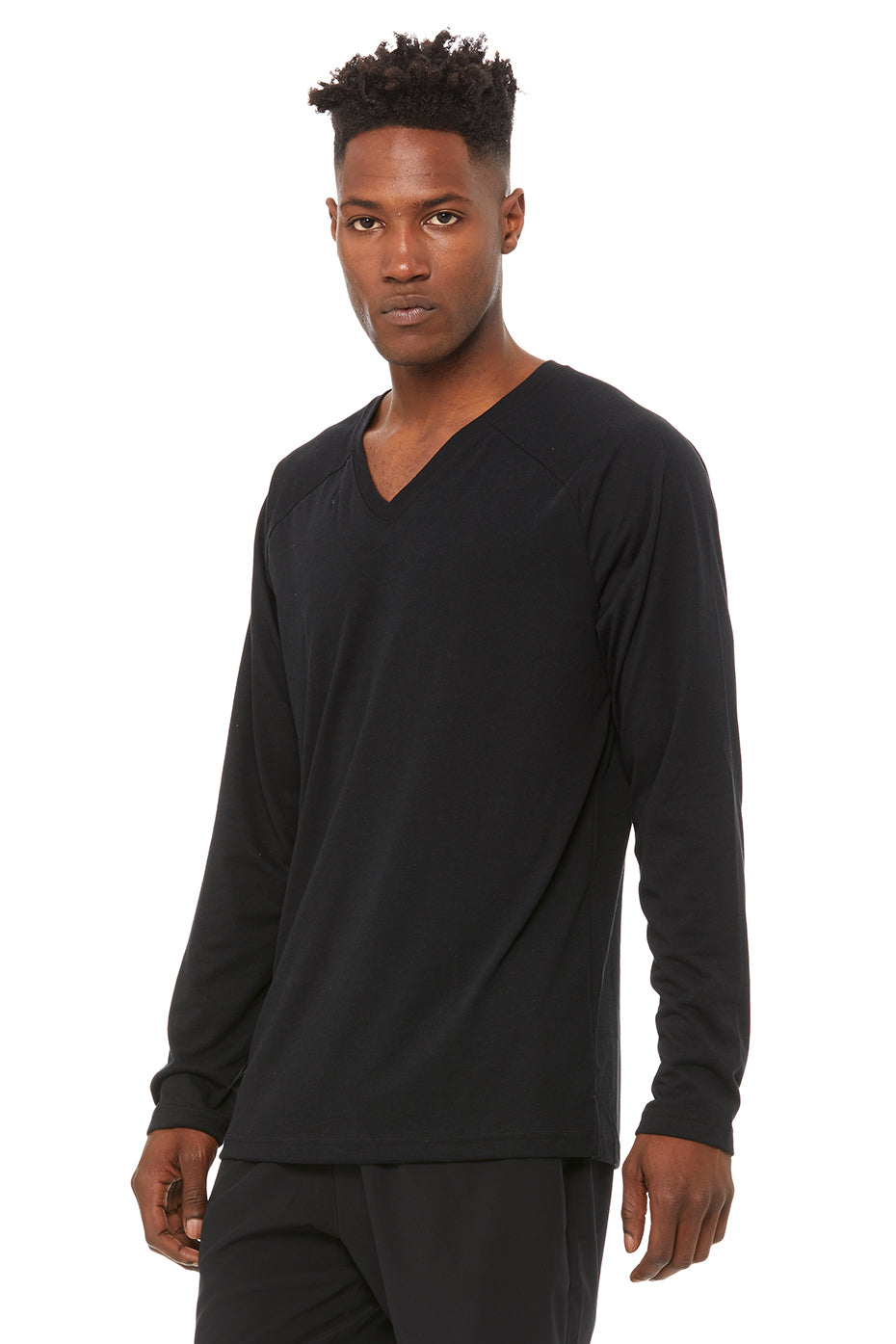 Triumph V-Neck Raglan Long Sleeve