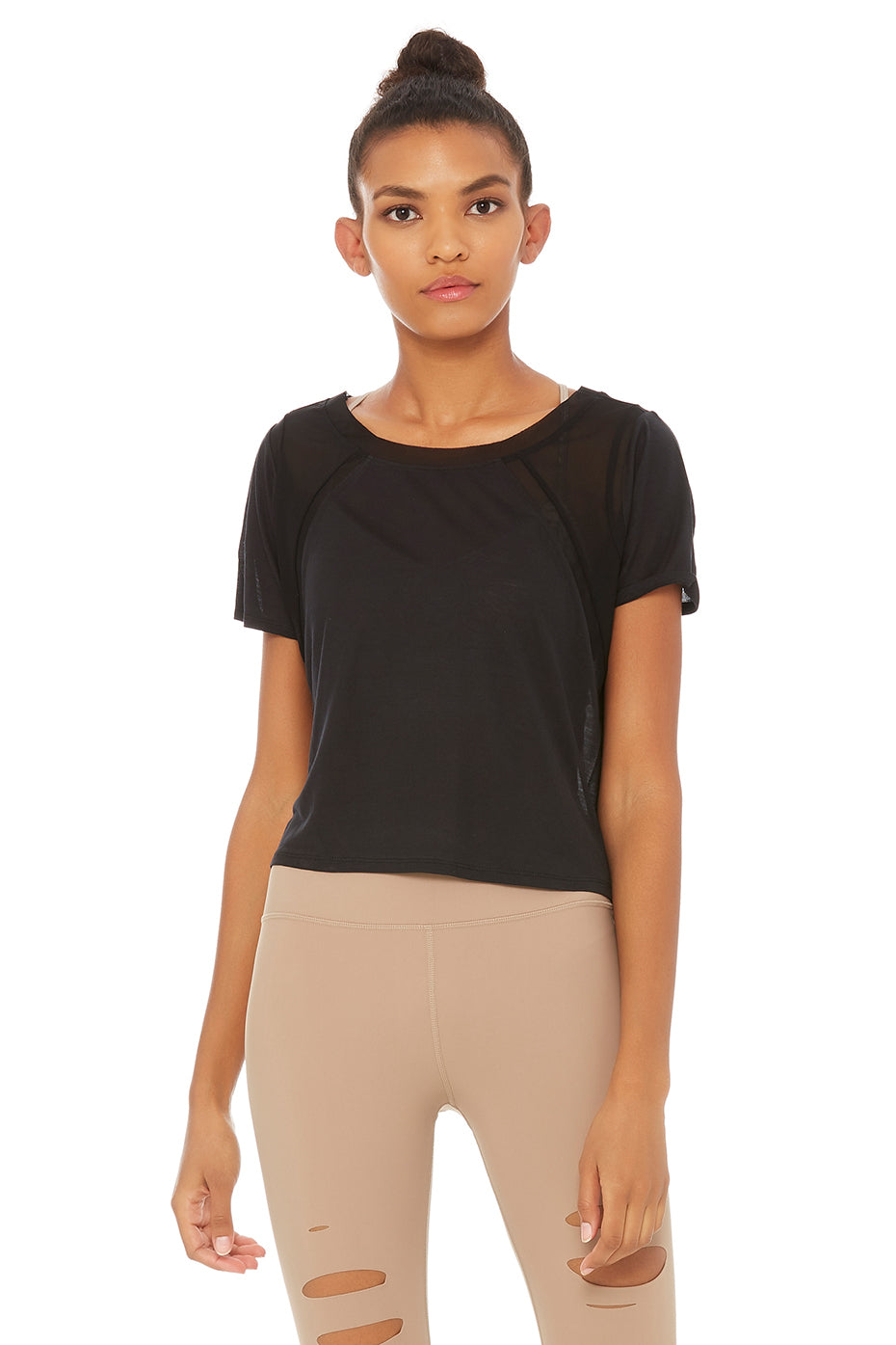 Tone Short Sleeve Top