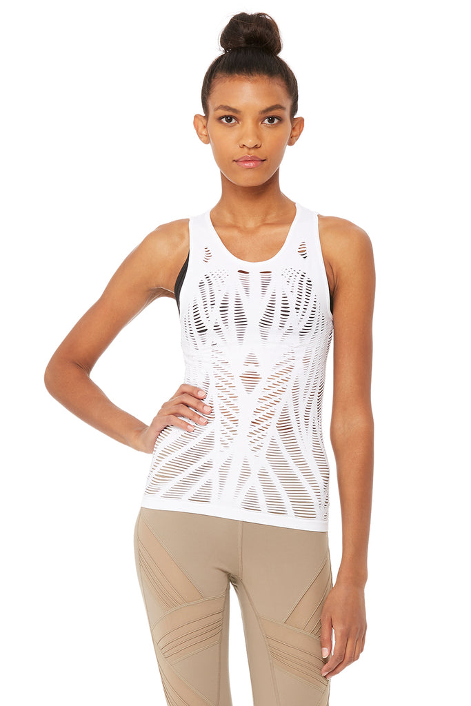 eb46365fe63 Vixen Fitted Muscle Tank | Women's Yoga Tops