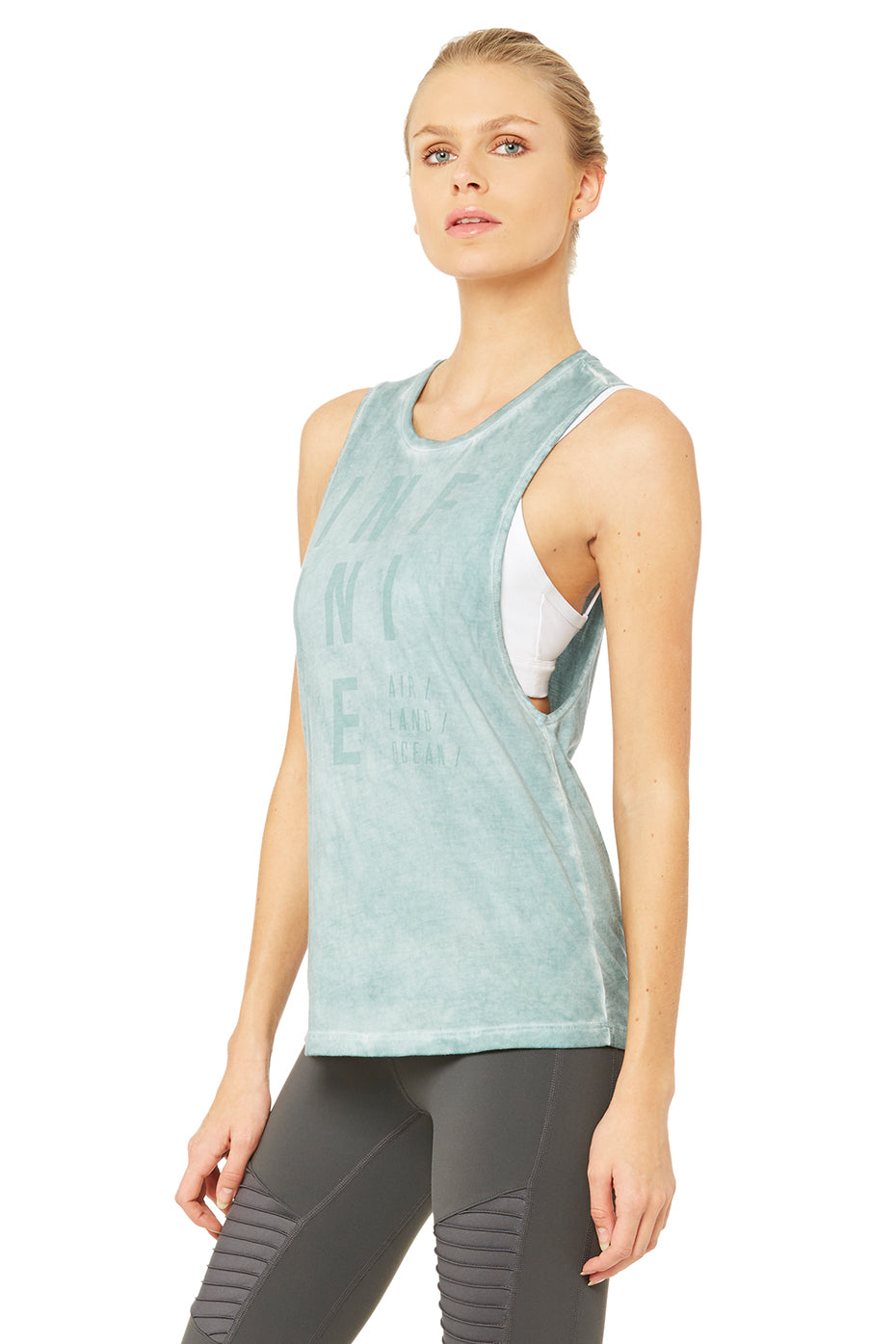 Tidal Graphic Muscle Tank