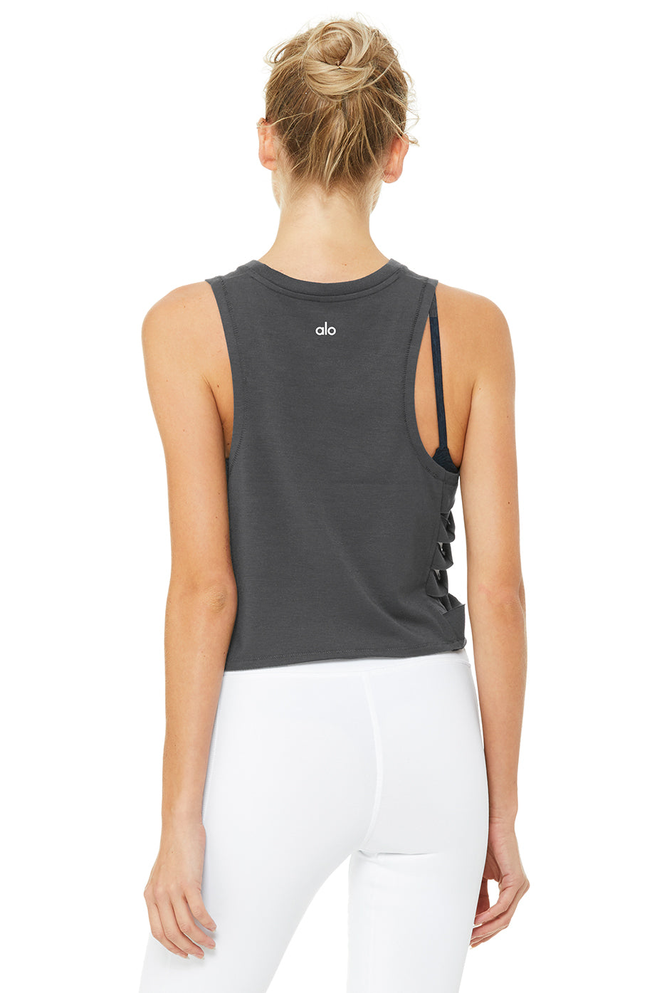 Cut It Out Cropped Tank