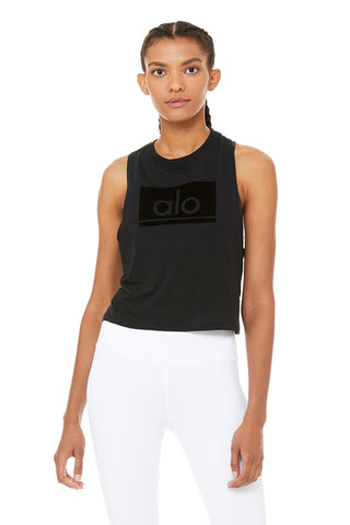 Flocked Alo Tank