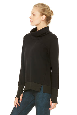 Haze Long Sleeve Top - Black