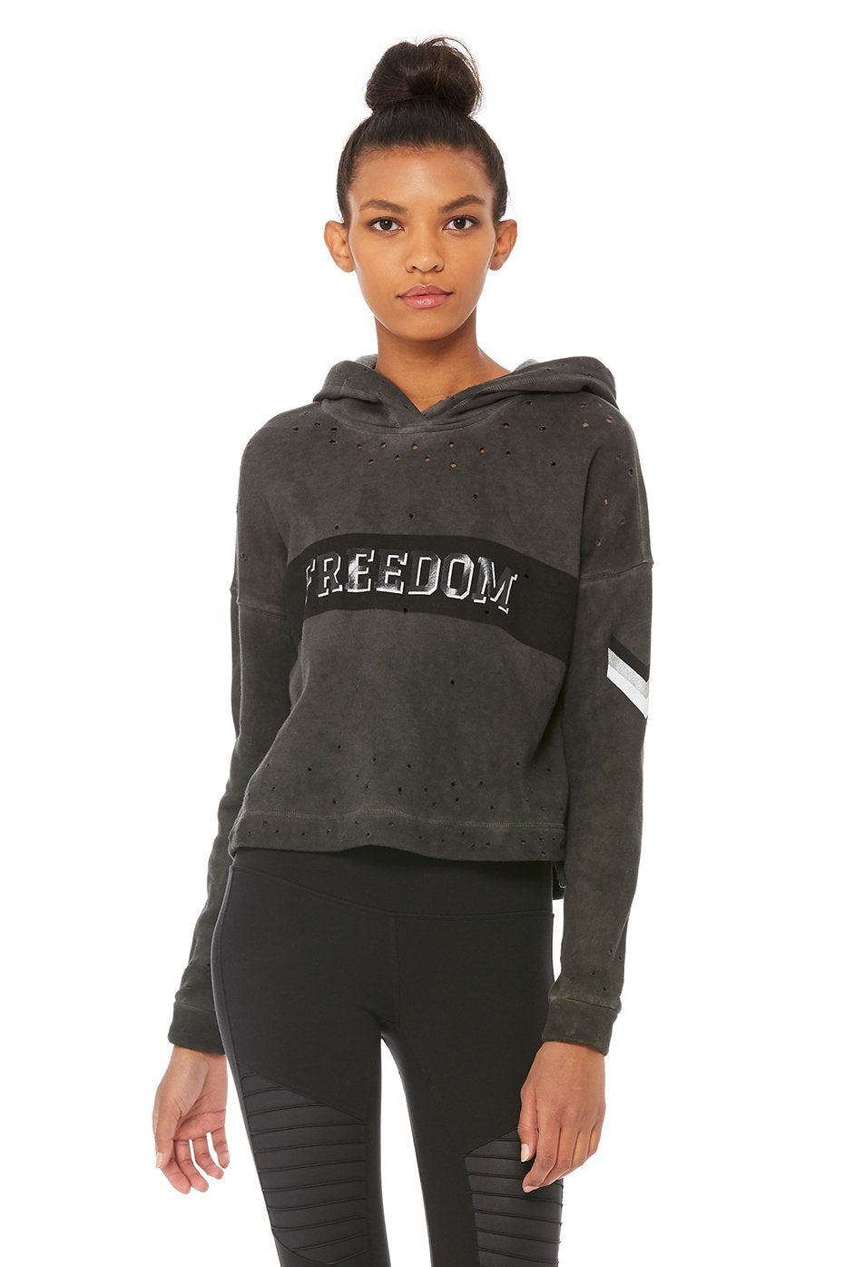 Cozy Cropped Hoodie - Graphic