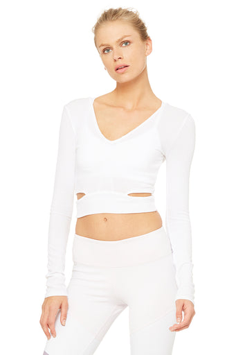 Aura Crop Long Sleeve