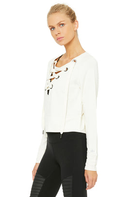 Ideal Long Sleeve Top - Pristine
