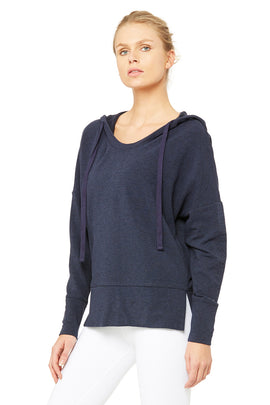 Fluid Tunic - Rich Navy Heather