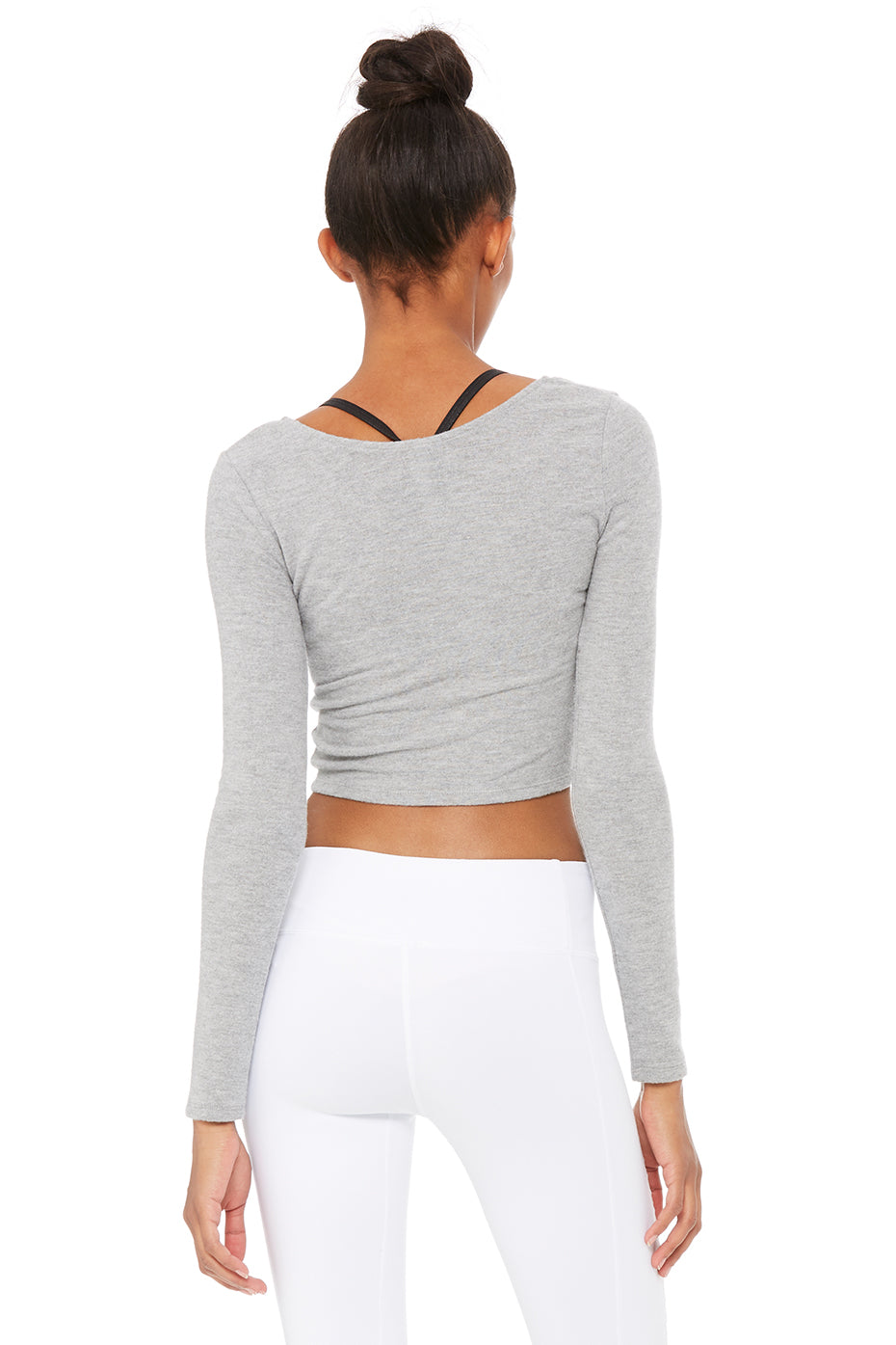 Amelia Luxe Long Sleeve Crop