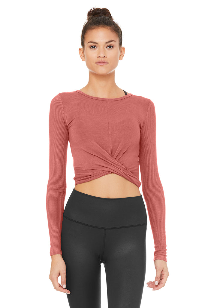 ce53321195bf29 Alo Cover Long Sleeve Top