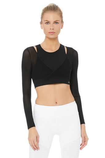 Pivot Layered Long Sleeve Top