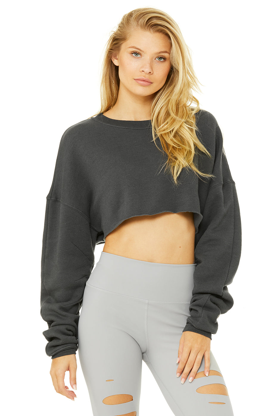 Limited-Edition Exclusive Extreme Crop Crew Neck