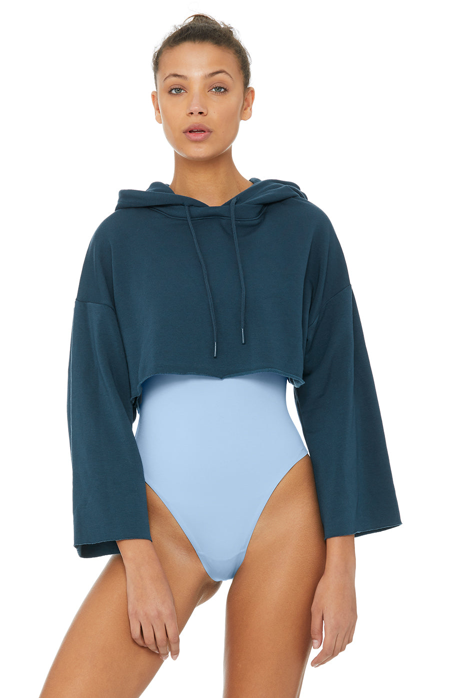 Limited-Edition Exclusive Edition Crop Hoodie