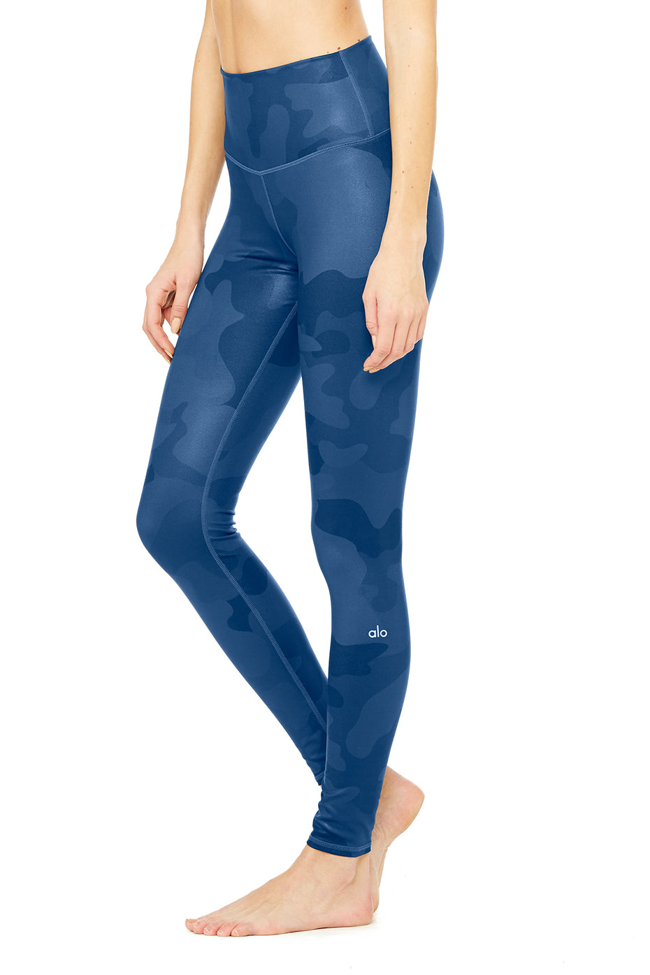 High-Waist Airbrush Legging - Print