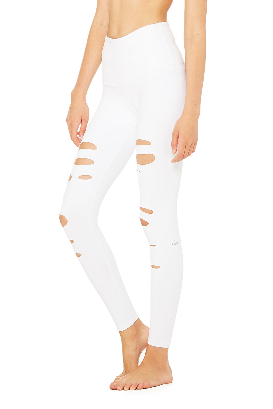 High-Waist Ripped Warrior Legging