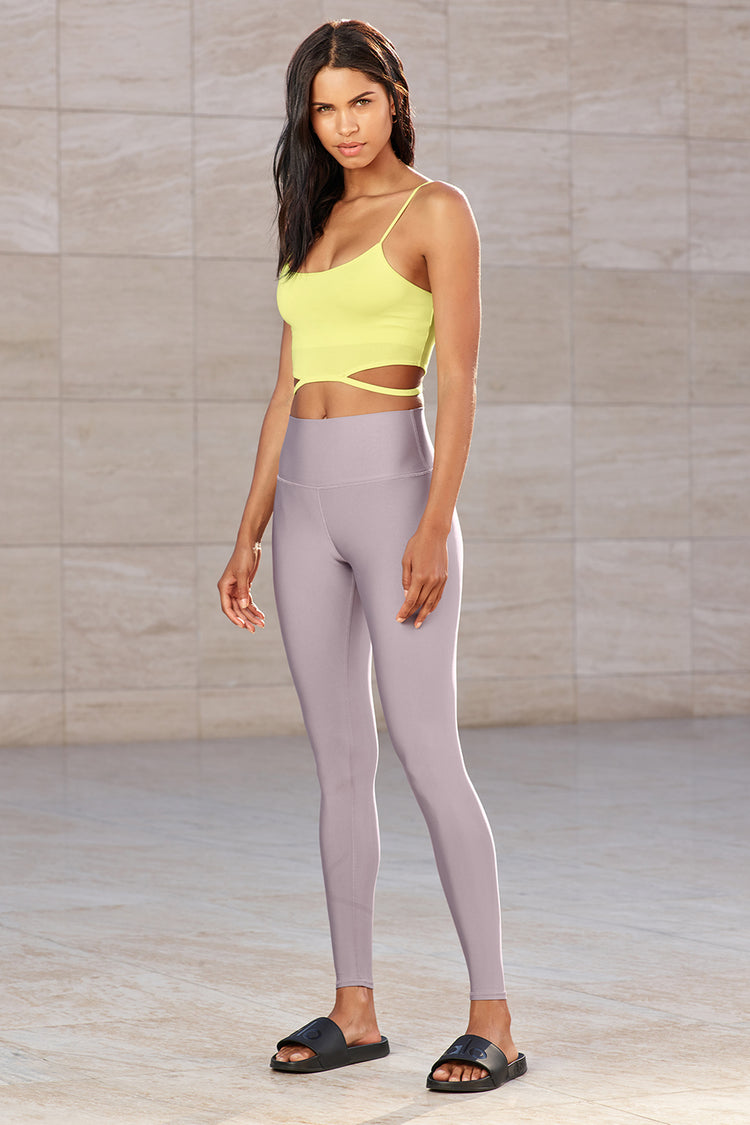 HIGH-WAIST AIRLIFT LEGGING by Alo Yoga, available on aloyoga.com for $118 Kendall Jenner Pants Exact Product