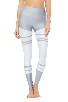 High-Waist Airlift Legging - Marathon Print