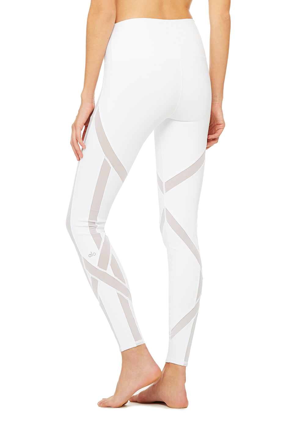 High-Waist Laced Legging