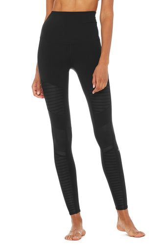 Extreme High-Waist Moto Legging