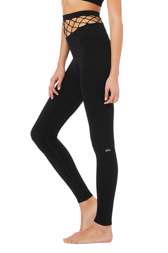 High-Waist Cage Legging