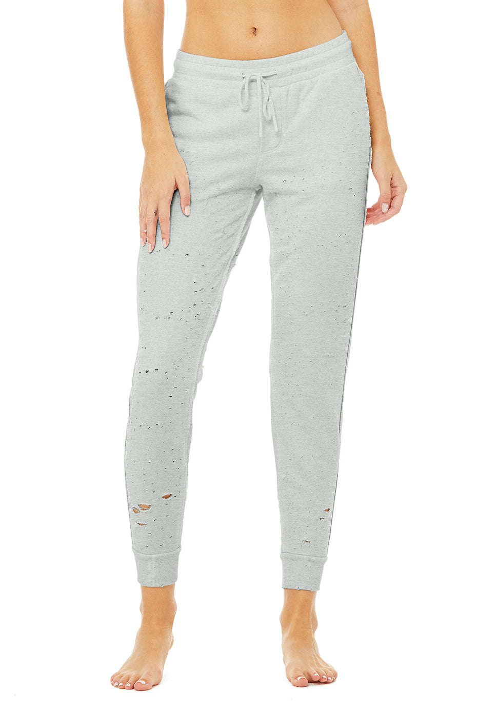 Fierce Sweatpant in Dove Grey