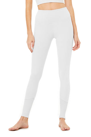 High-Waist Alo Sueded Lounge Legging