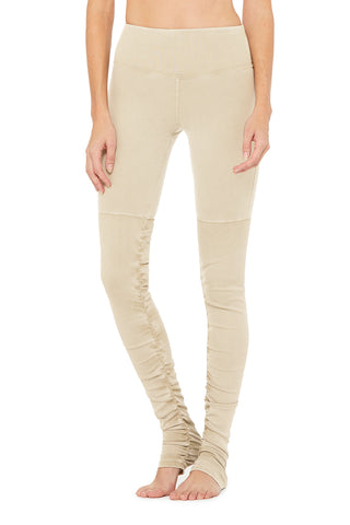 High-Waist Alo Sueded Goddess Legging