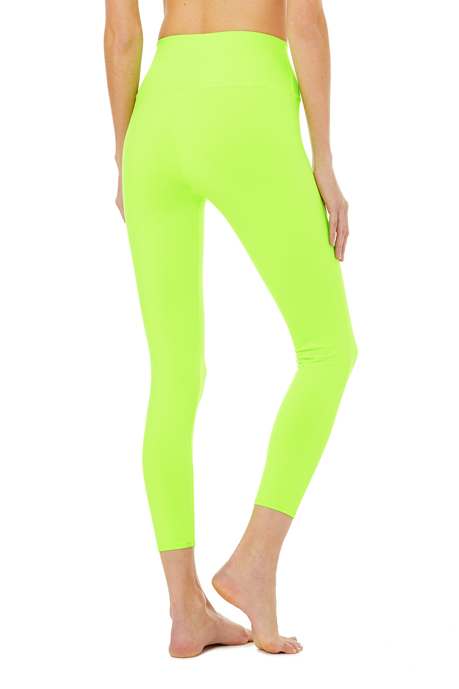 Limited-Edition Exclusive 7/8 High-Waist Neon Airbrush Legging