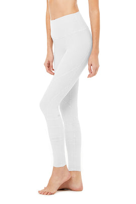 High-Waist Alo Sueded Momentum Legging