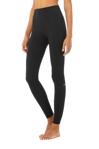 High-Waist Solid Vapor Legging