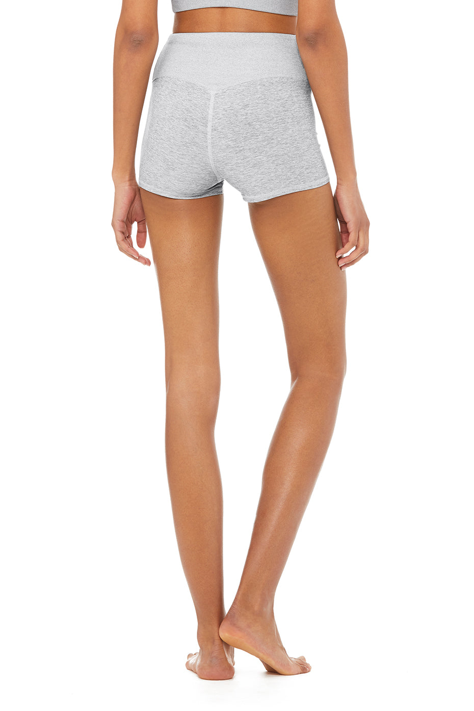 Here are the shorts in Zinc Heather recommend