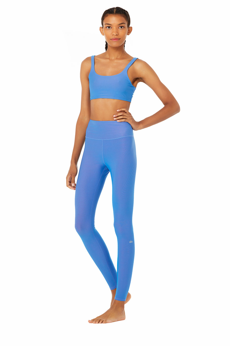Iridescent Bra High Waist Legging Set Alo Yoga