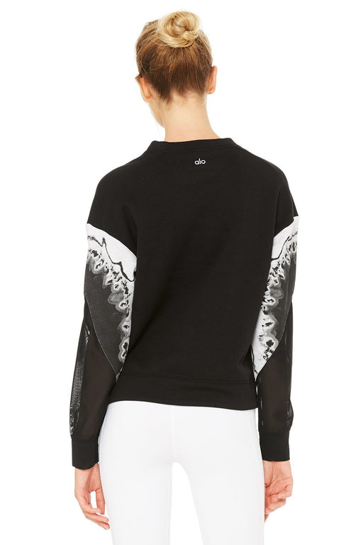Verse Long Sleeve Top - Black Zinc