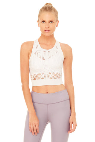 Vixen Fitted Crop Tank