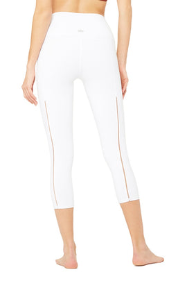 High-Waist Dash Capri