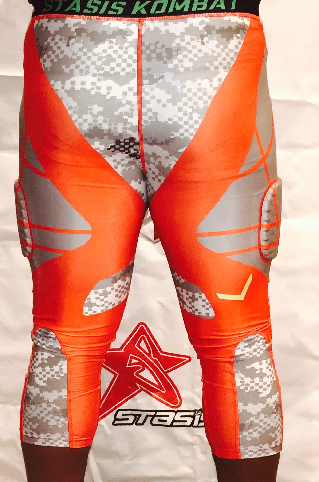Stasis Athletics 3/4 Padded Compression Tights