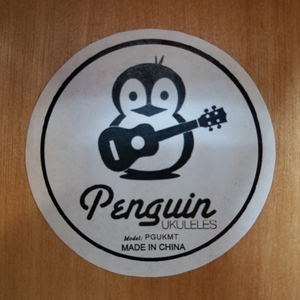 Penguin PGUKMT Right-Handed Tenor Ukulele