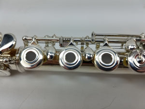 North Bridge NB500 Open-Hole Flute with Solid Silver Headjoint, Point Brace Arms