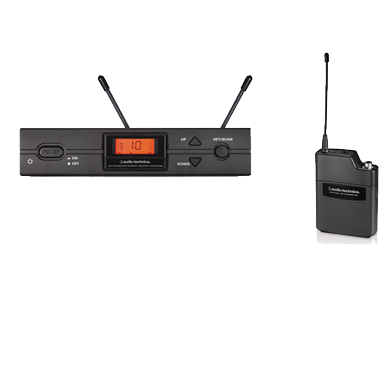 Audio Technica ATW-2110b I Band UHF Wireless System Transmitter & Receiver Only