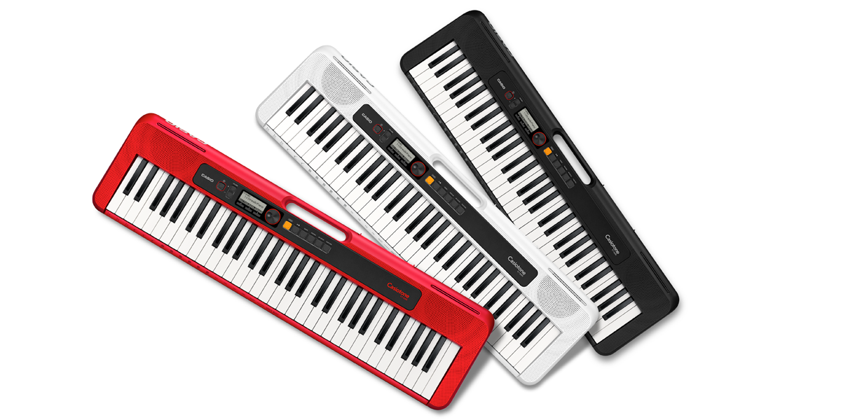 Casio Casiotone CT-S200 Portable Digital Keyboard Red, White or Black