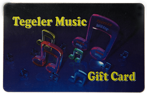 Tegeler Music Gift Card