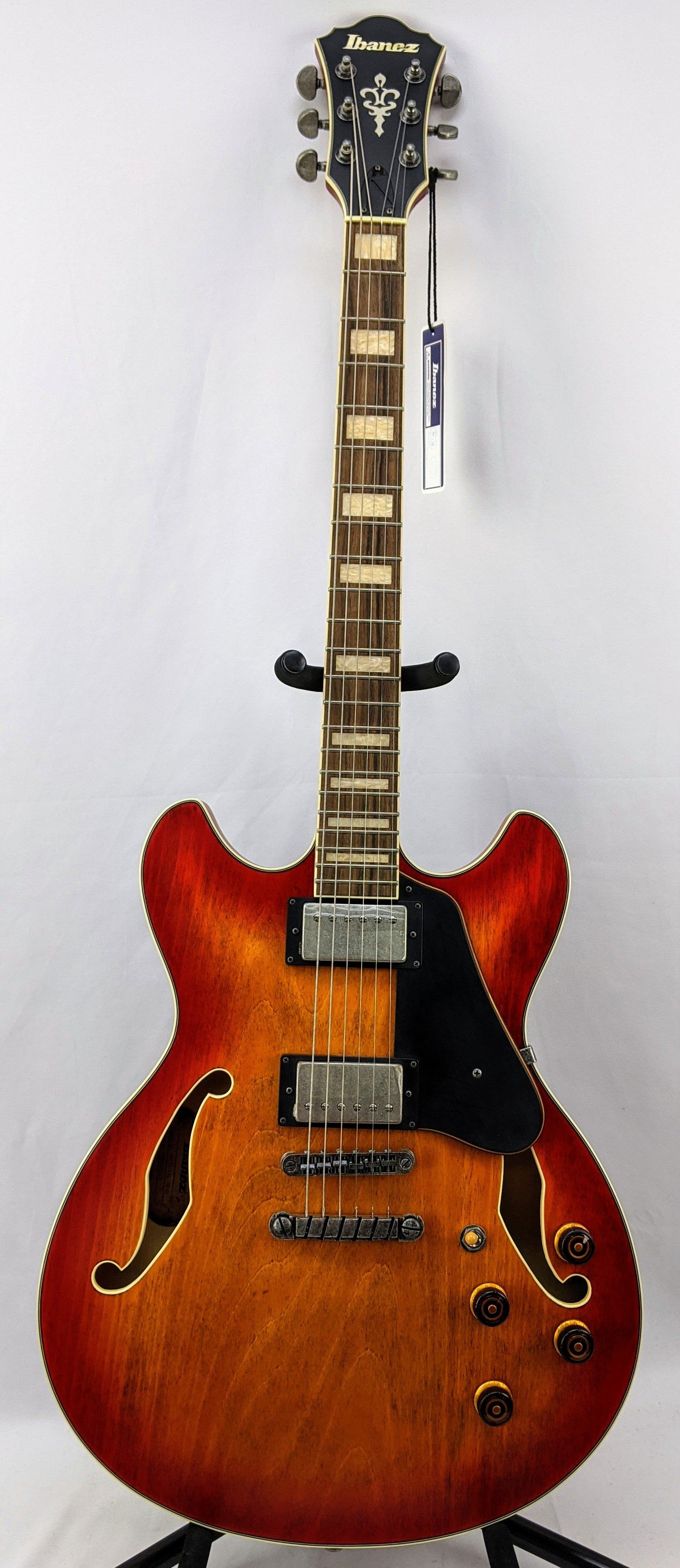 Ibanez ASV73VAL Right-Handed Semi-Hollow Body Electric Guitar
