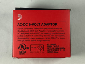 PW-CT-9V Regulated AC-DC 9V Adaptor Guitar Pedal Power Supply