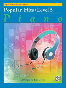 Alfred's Basic Piano Library: Popular Hits, Level 5