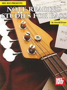 Note Reading Studies for Bass Book