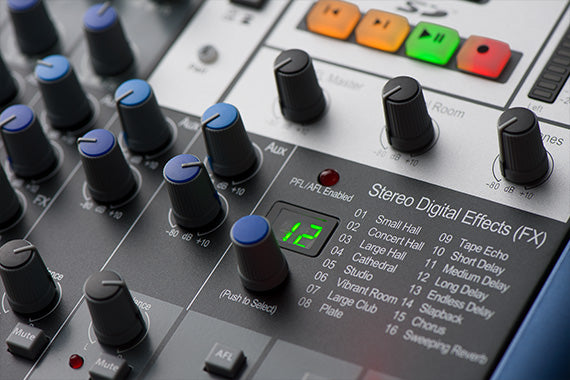 PreSonus StudioLive AR12c USB-C Digital/Analog Mixer for Stage/Studio/Podcasting