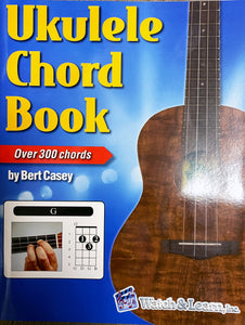 Watch & Learn Ukulele Chord Book