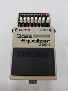Boss GEB-7 Bass Graphic EQ Pedal