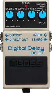 Boss DD-3T Delay Guitar Effects Pedal with Tap Tempo