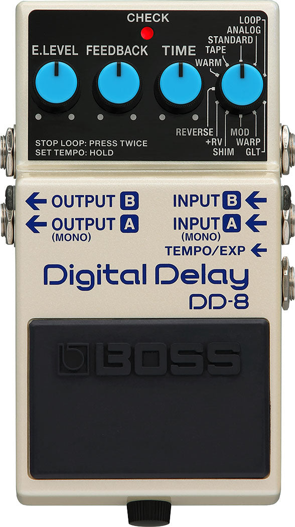 Boss DD-8 Digital Delay Guitar Effects Pedal