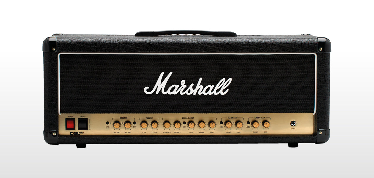 Marshall DSL100HR 100-Watt All Valve/Tube Guitar Amplifier Head
